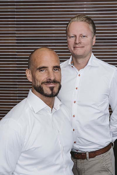 Magnus Andersson and Pelle Nilsson