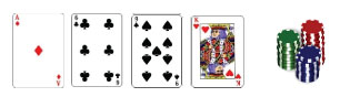 Texas hold'em 4 cards
