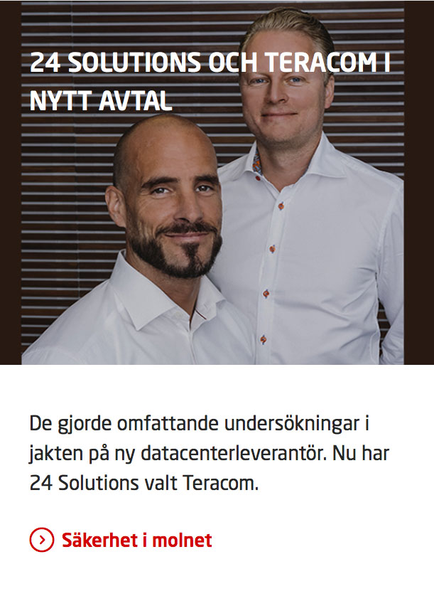 24 Solutions i Teracoms tidning
